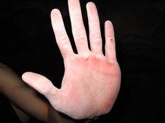 Rock Climbing Photo: Hand