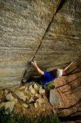 Rock Climbing Photo: Mid Crux on Ebola.