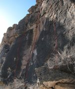 Rock Climbing Photo: The original Teenage Prostitutes Area.  Routes sho...