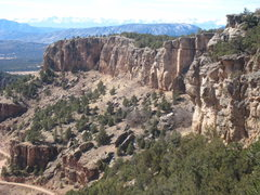 Rock Climbing Photo: View to The Gym and beyond from the south end of T...