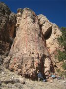 """Rock Climbing Photo: The Arcade:  1. """"Tommy"""". 2. """"Pacman..."""