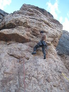 Rock Climbing Photo: Entering the fun, juggy steepness.