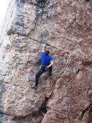 Rock Climbing Photo: The poor shake at the horizontal break.