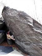 "Rock Climbing Photo: Mikey on ""Billy Budd"" (V4)"