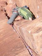 Rock Climbing Photo: Squeezin'
