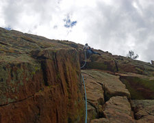Rock Climbing Photo: Fun climbing in Eldorado.