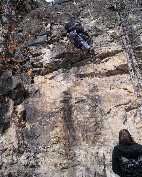 Rock Climbing Photo: Another fun climb at skeletal