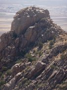 Rock Climbing Photo: Vedauwoo Dome - pic taken from Checkerboard Wall t...
