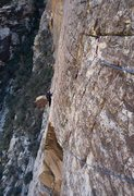 Rock Climbing Photo: I follow Alex' great lead, p3 Fiddler