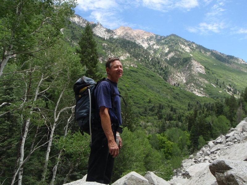 Rock Climbing Photo: Approach to PentaPitch
