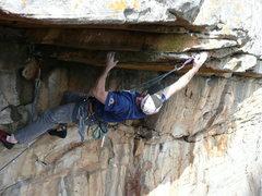 Rock Climbing Photo: Climbing at Jamestown, AL.  Photo by Scott Perkins