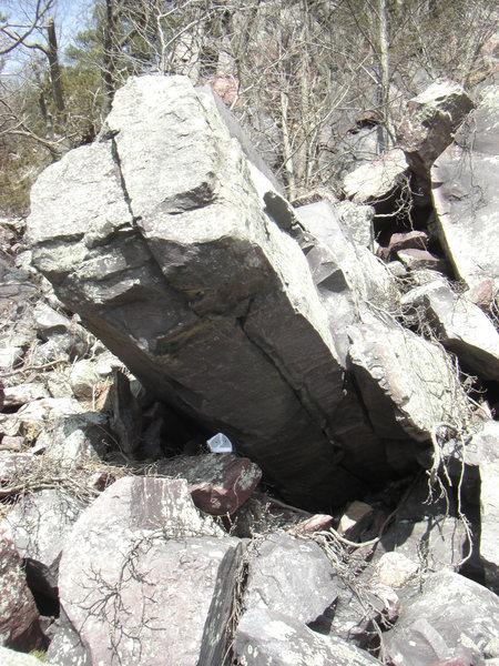 Rock Climbing Photo: Finger Pillar. Project?