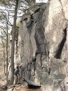 Rock Climbing Photo: I approve. Classic problem! Photo: Ben Mahaffey
