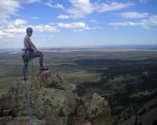 Rock Climbing Photo: Nice view from the top.