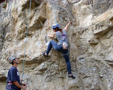 Rock Climbing Photo: the start of the Plea Bargain