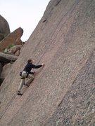Rock Climbing Photo: Dan Gabbay on P1.