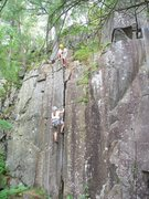 Rock Climbing Photo: Yosemite Crack