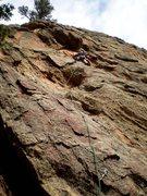 Rock Climbing Photo: In search of sunshine.