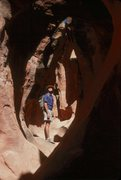 Rock Climbing Photo: Leprechaun Canyon was actually named after this gu...