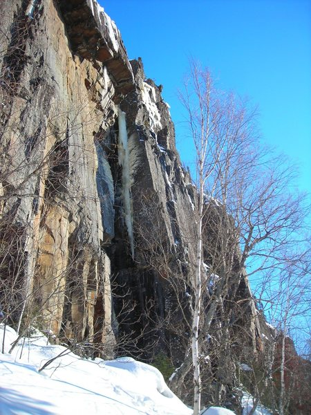 Rock Climbing Photo: Condition of Galadrial's Phial  3-13-2011