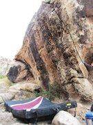 Rock Climbing Photo: Heidi Klum.