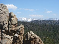 Rock Climbing Photo: San Gorgonio from Holcomb Valley.