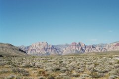 Rock Climbing Photo: Red Rock NV - '04 - from the campground.