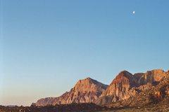 Rock Climbing Photo: Sunrise, Red Rock NV - '04