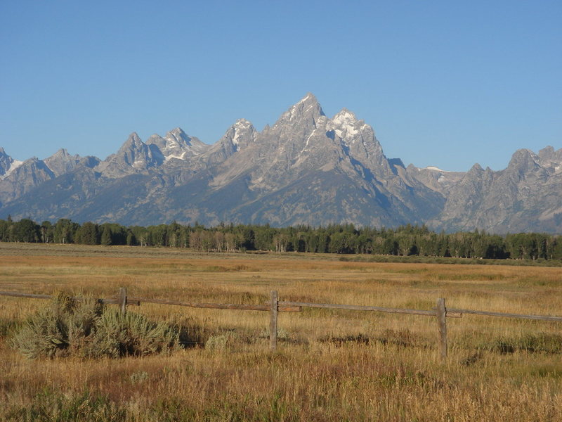 Rock Climbing Photo: The Grand, early morning, and meadow.