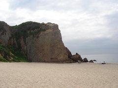 Rock Climbing Photo: Point Dume, CA.