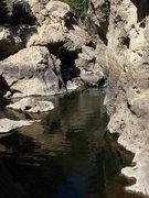 Rock Climbing Photo: Malibu Creek, CA.