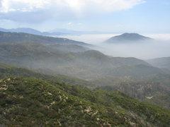 Rock Climbing Photo: San Bernardino Mountains from Scot Rock, CA.