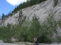 Rock Climbing Photo: Wasootch Creek, Kananaskis Country, Alberta.  Grea...