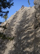 Rock Climbing Photo: Jerry, just finished with another great route.  Wa...