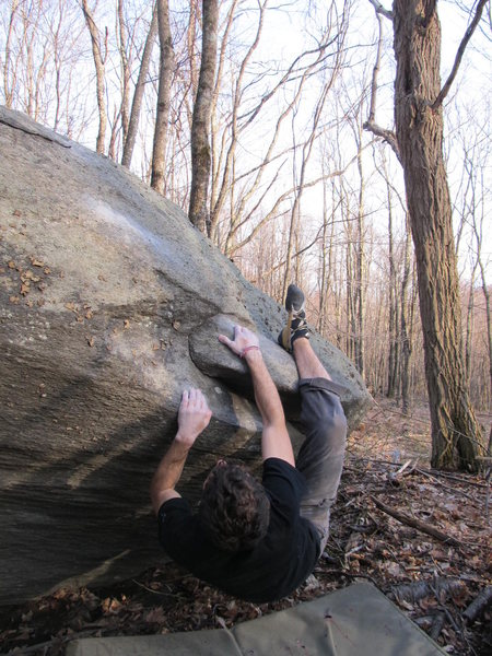 "Aaron James Parlier on the start and FA of ""Sweet Cherry"" in the Mid Boneyard, GHSP"
