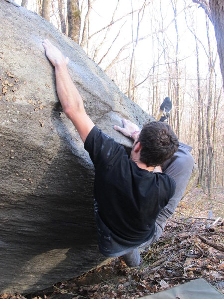 "Aaron James Parlier on the FA of ""Sweet Cherry"" in the Mid Boneyard, GHSP"