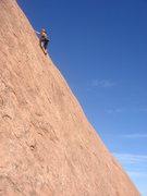 Rock Climbing Photo: Nan on Virgin Bolters.