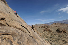 Rock Climbing Photo: With drive-up convenience, an easy scramble to the...
