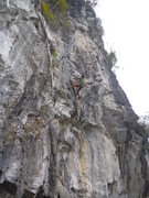 Rock Climbing Photo: Tony N on Windchime of the Ants 7a-Butterfly Valle...