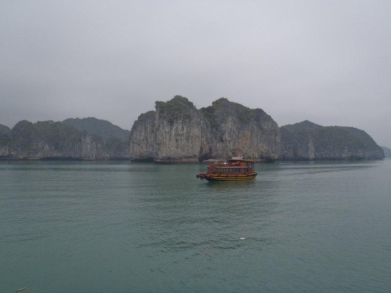 Rock Climbing Photo: Ha Long Bay Vietnam