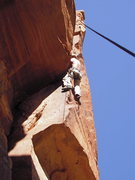 Rock Climbing Photo: BIO almost to the crux.