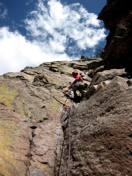 Rock Climbing Photo: Great Zot...