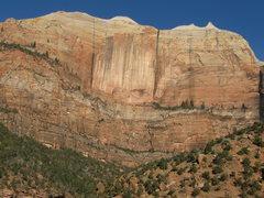 Rock Climbing Photo: The Streaked Wall