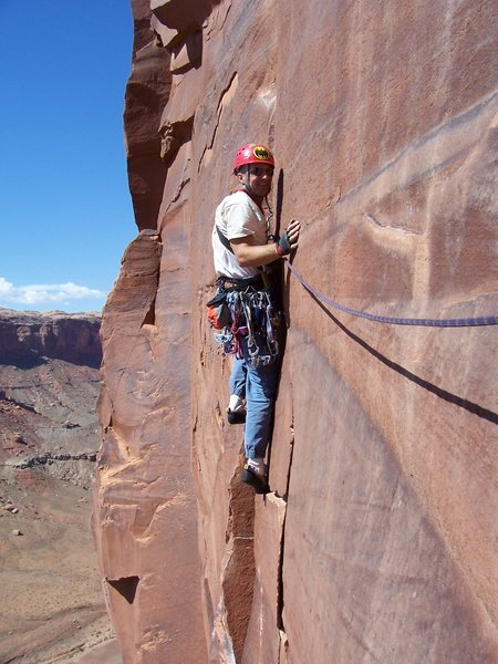 Rock Climbing Photo: Utah!