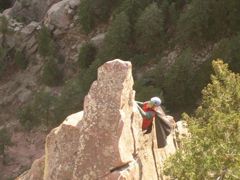 Rock Climbing Photo: Belay Boy.