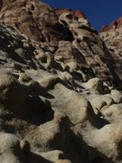 Rock Climbing Photo: awesome features on a boulder