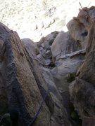 Rock Climbing Photo: finishing up the Eye