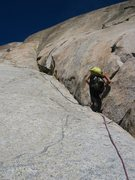 Rock Climbing Photo: The start of Toll House Treverse