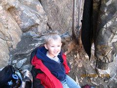 Rock Climbing Photo: Linken
