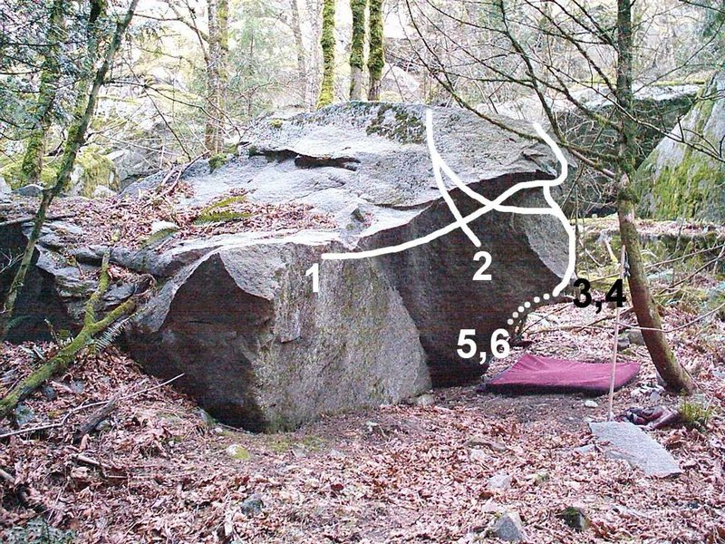 Rock Climbing Photo: 1. Smallville Traverse 2. Jor-El 3. The Nose 4. Ge...